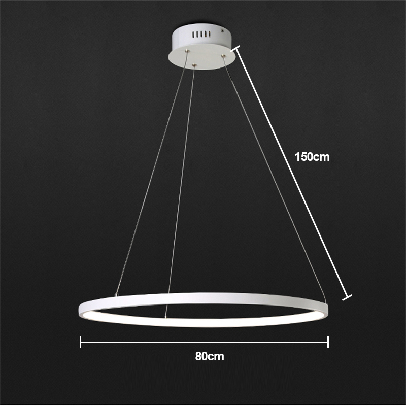 Modern Simple Metal + Acrylic White / Warm White Light LED Patch Ceiling Light Energy Saving