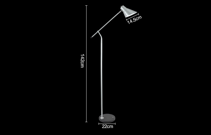 Nordic Ikea Vertical Floor Lamp with 2 Colors