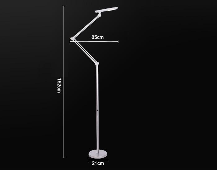 Modern Creative White Vertical Floor Lamp