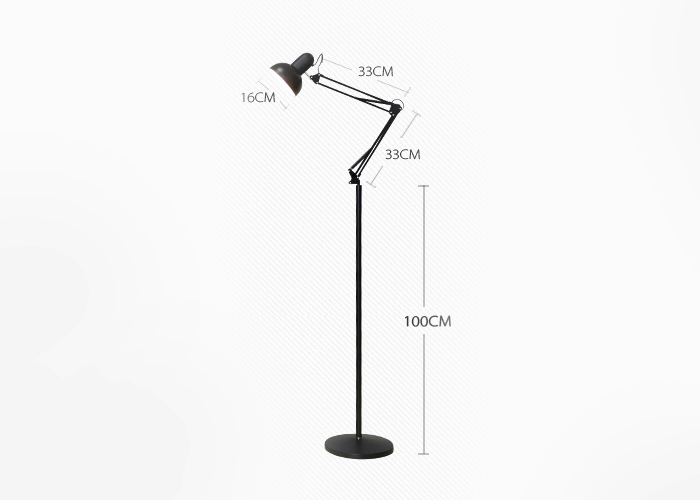 Modern Creative Vertical Floor Lamp 6 Colors