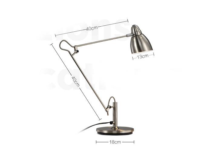 Modern Creative Silver Fancy Table Lamp